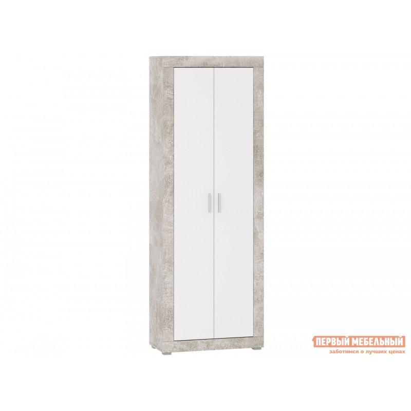 Распашной шкаф  МОНТАНА шкаф ШК-80 73020149 Atelier светлый / Белый глянец