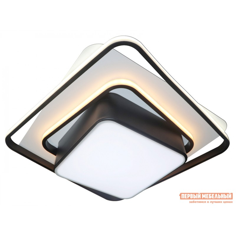 Люстра  LED 81038/4C Черно, металл / Белый, металл / Белый, пластик (фото 2)