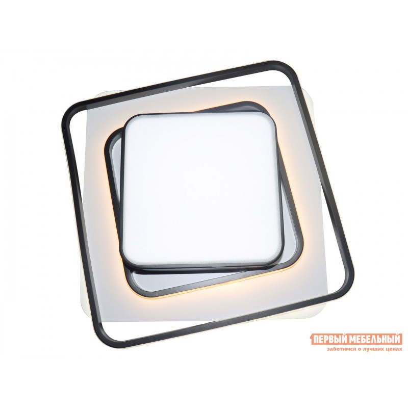 Люстра  LED 81038/4C Черно, металл / Белый, металл / Белый, пластик (фото 3)