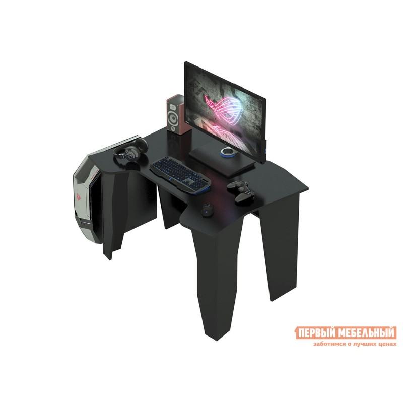 Компьютерный стол  Страйкер-1 Черный (фото 2)