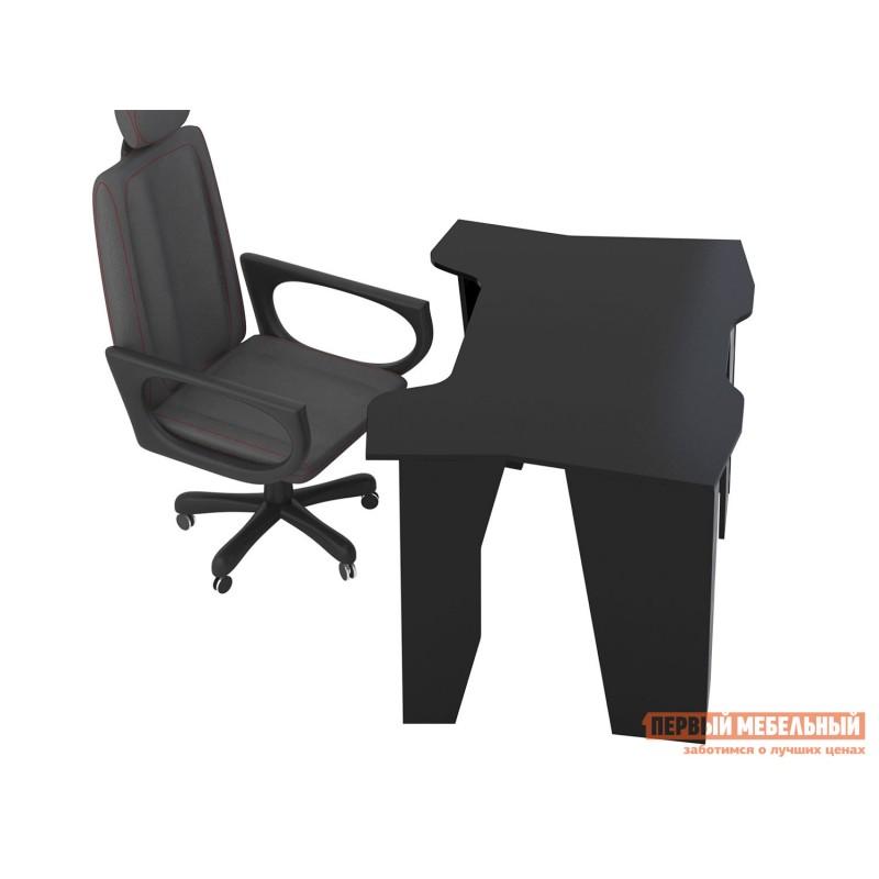 Компьютерный стол  Страйкер-1 Черный (фото 4)