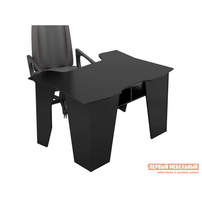 Компьютерный стол  Страйкер-1 Черный (фото 5)