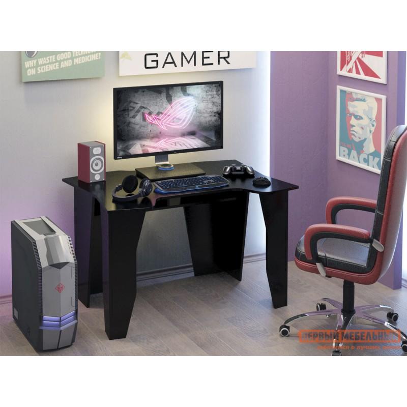 Компьютерный стол  Страйкер-1 Черный (фото 6)