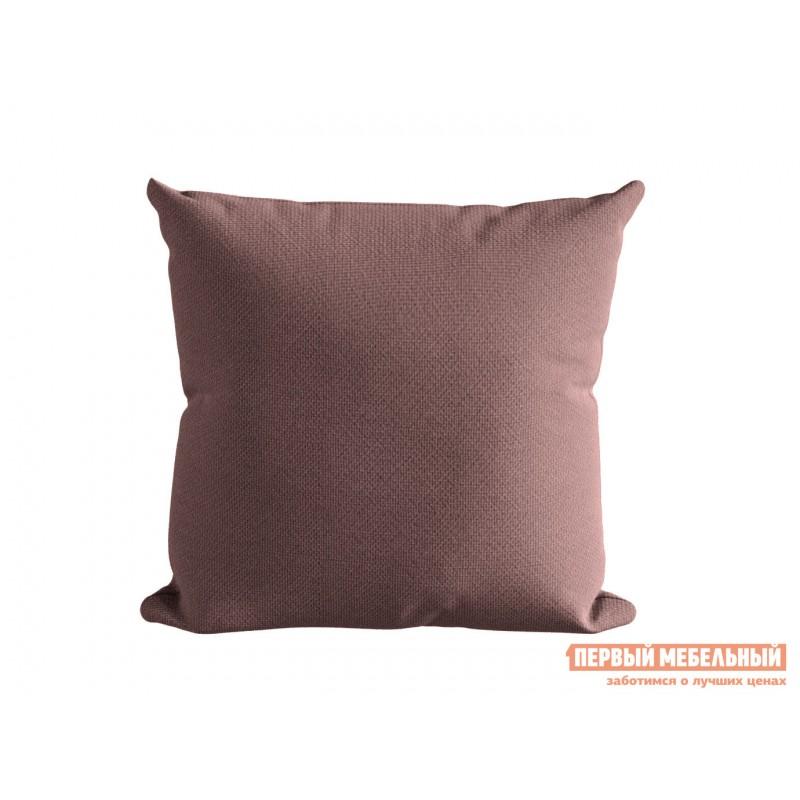 Декоративная подушка  Подушка ШН(391-15), Размер 45х45 брусника Брусника, рогожка