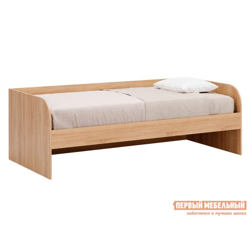 Детская кровать  Кровать Леон Дуб сонома, Без ящика