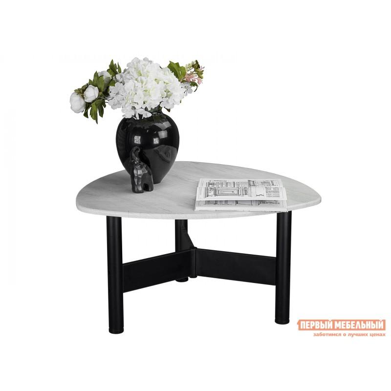 Журнальный столик  СтолжурнальныйСаут 1Д Дуб дымчатый / Черный (фото 4)