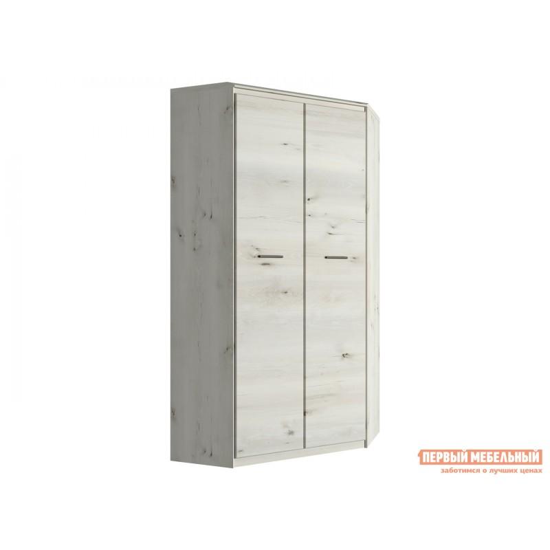 Распашной шкаф  Шкаф угловой Бьерк Ольха полярная
