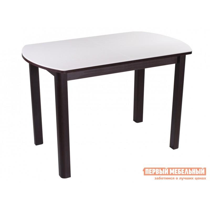Кухонный стол  Обеденный стол Румба ПО КМ Белый 04 / Венге ВН, Средний