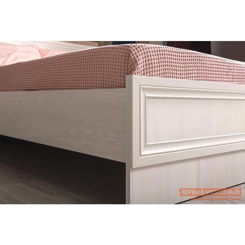 Двуспальная кровать  Кровать Аврора с основанием и ножками Ясень Анкор светлый, 1400 Х 2000 мм (фото 3)
