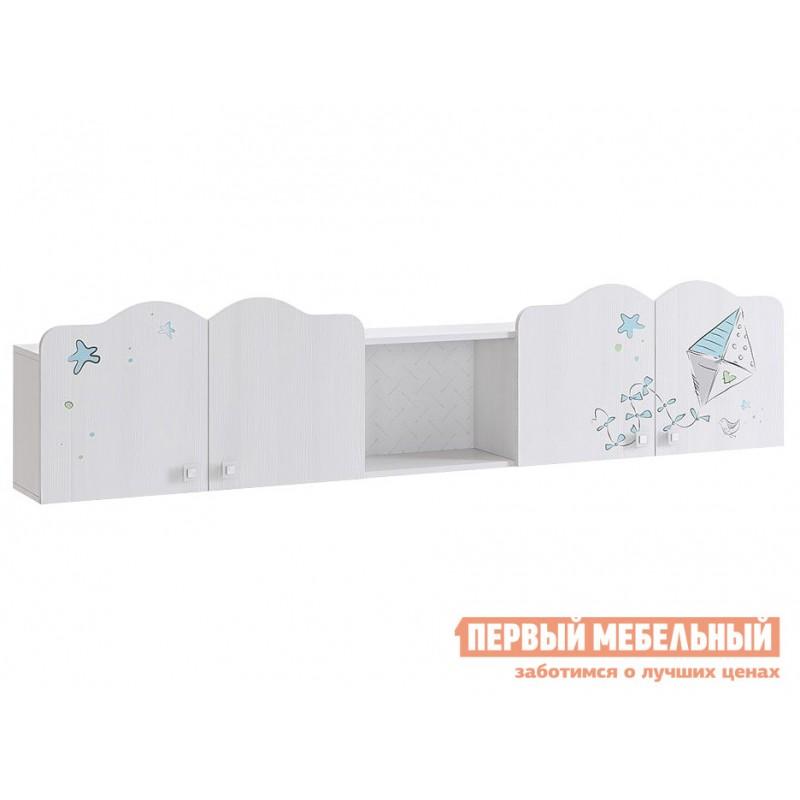 Полка детская  MKB-04 Бонни Полка Белый Рамух / Кэнди