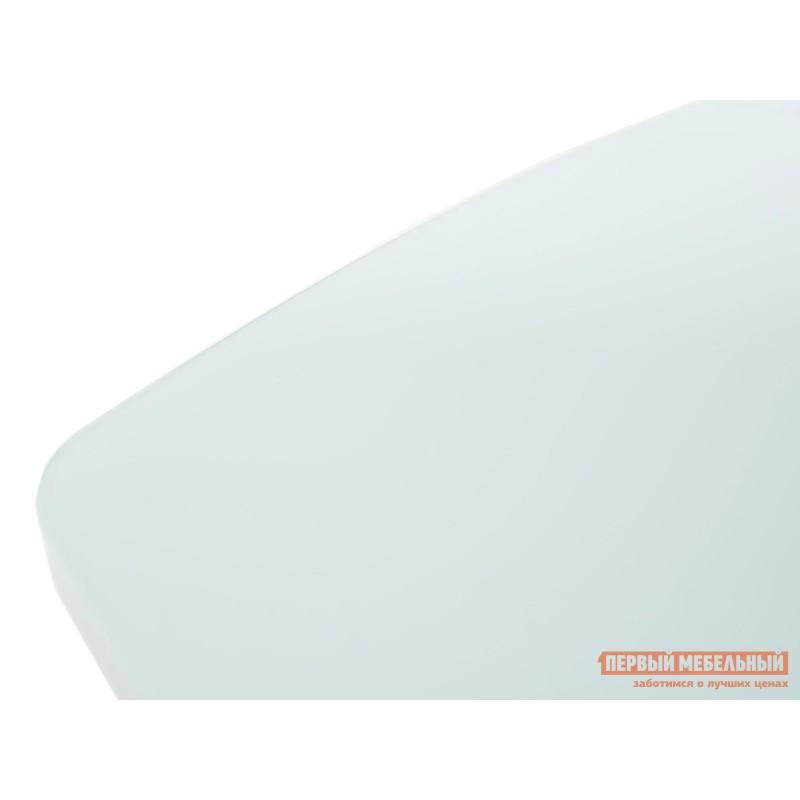 Кухонный стол  Стол Севилья Белый / Стекло белое (фото 4)