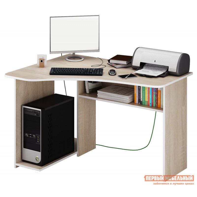 Компьютерный стол  Триан-1 Дуб Сонома, Левый