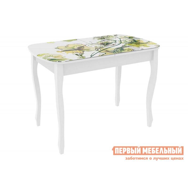 Кухонный стол  Экстра 2 Белый / Жасмин