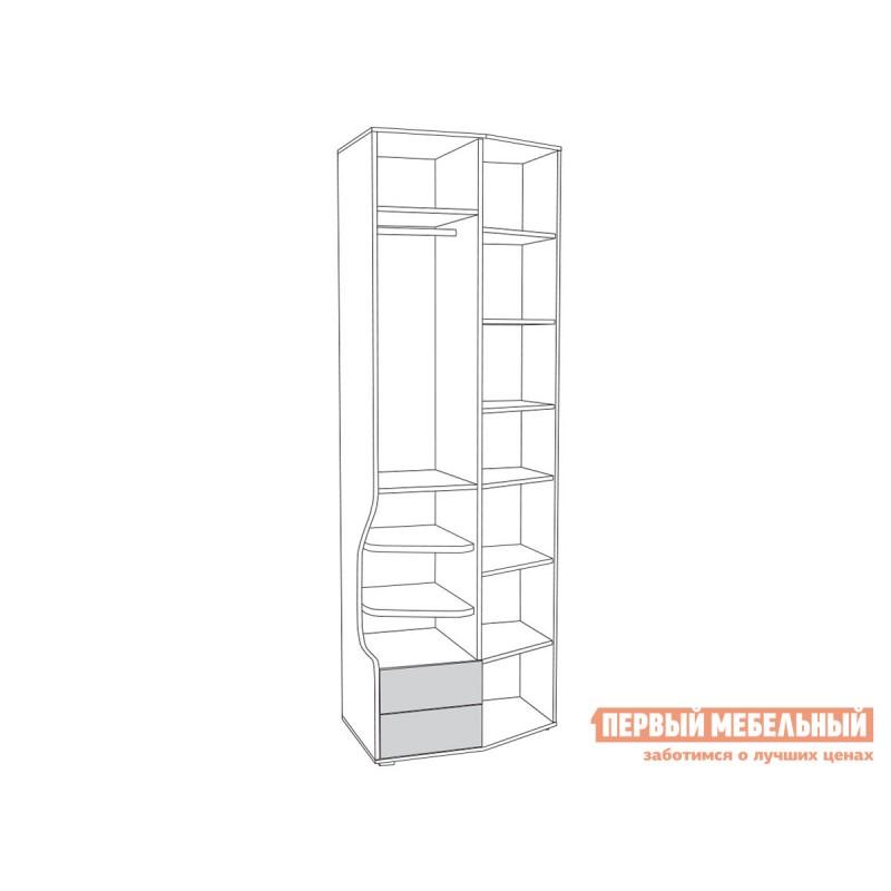 Шкаф детский  Шкаф 2-х створчатый Индиго 10.19 Тёмно-серый / Граффити (фото 5)