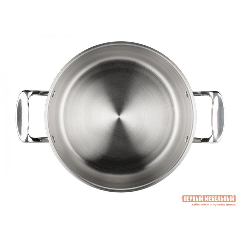 Кастрюля  Кастрюля с крышкой ICONIC 18х10.5см 3.0л Серебристый (фото 4)