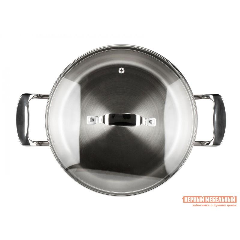 Кастрюля  Кастрюля с крышкой ICONIC 18х10.5см 3.0л Серебристый (фото 5)
