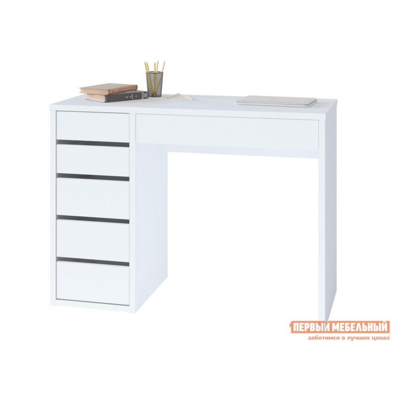 Письменный стол  СПм-10 Белый, Левый