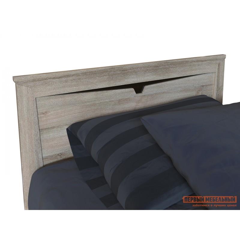 Односпальная кровать  Кровать Гарда NEW Ясень Таормино, С основанием (фото 3)