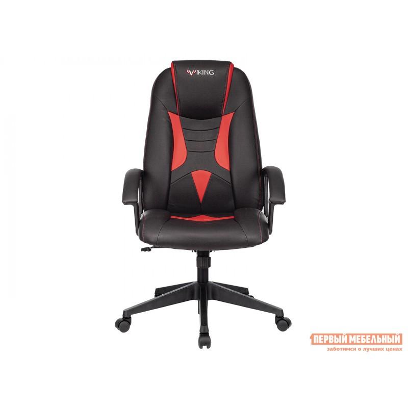 Игровое кресло  Кресло игровое VIKING-8 Черный, экокожа / Красный, экокожа (фото 2)