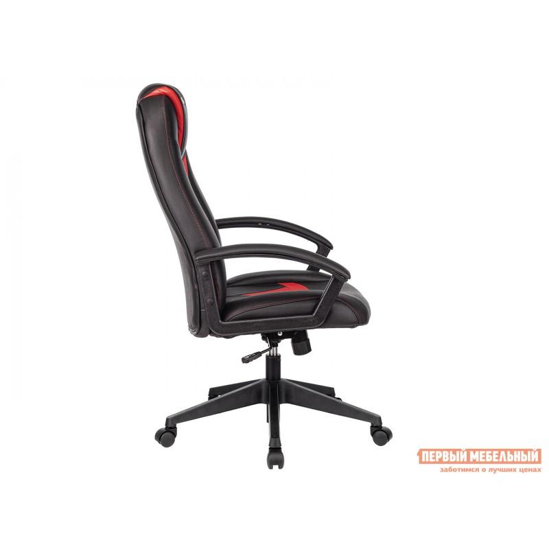 Игровое кресло  Кресло игровое VIKING-8 Черный, экокожа / Красный, экокожа (фото 3)