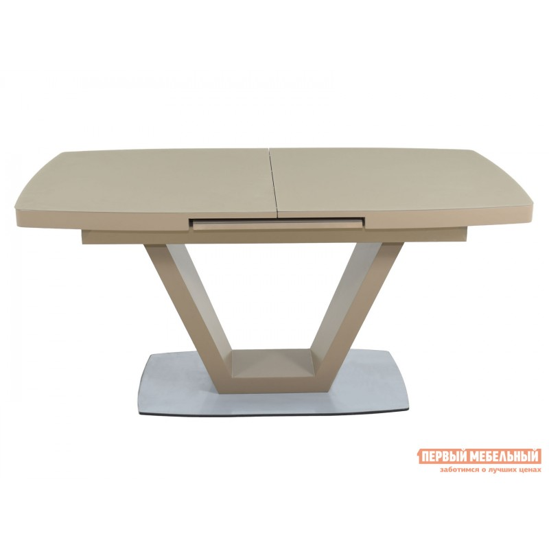 Кухонный стол  Фоджа Капучино / Стекло Opti матте, Большой (фото 2)