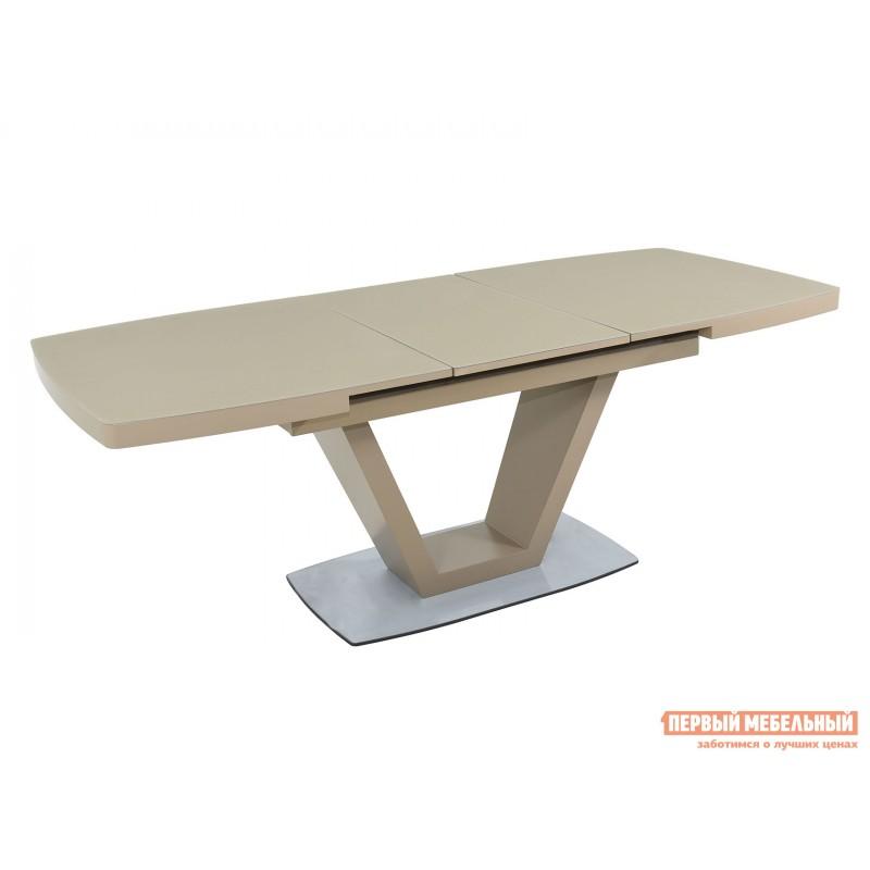 Кухонный стол  Фоджа Капучино / Стекло Opti матте, Большой (фото 3)