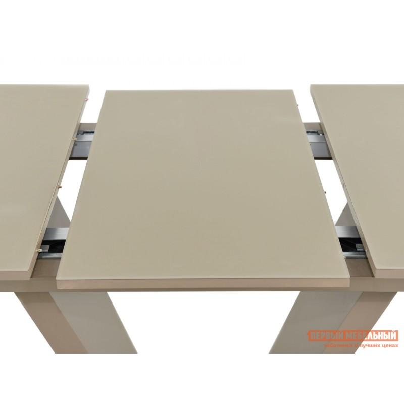 Кухонный стол  Фоджа Капучино / Стекло Opti матте, Большой (фото 5)