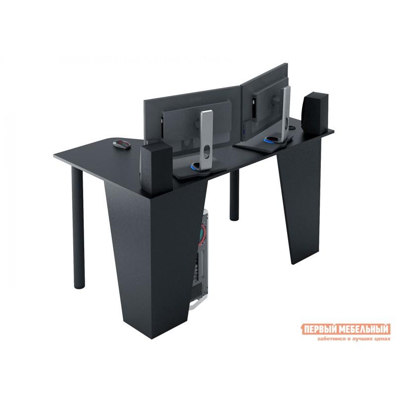 Компьютерный стол  Форсаж-2 Черный (фото 3)