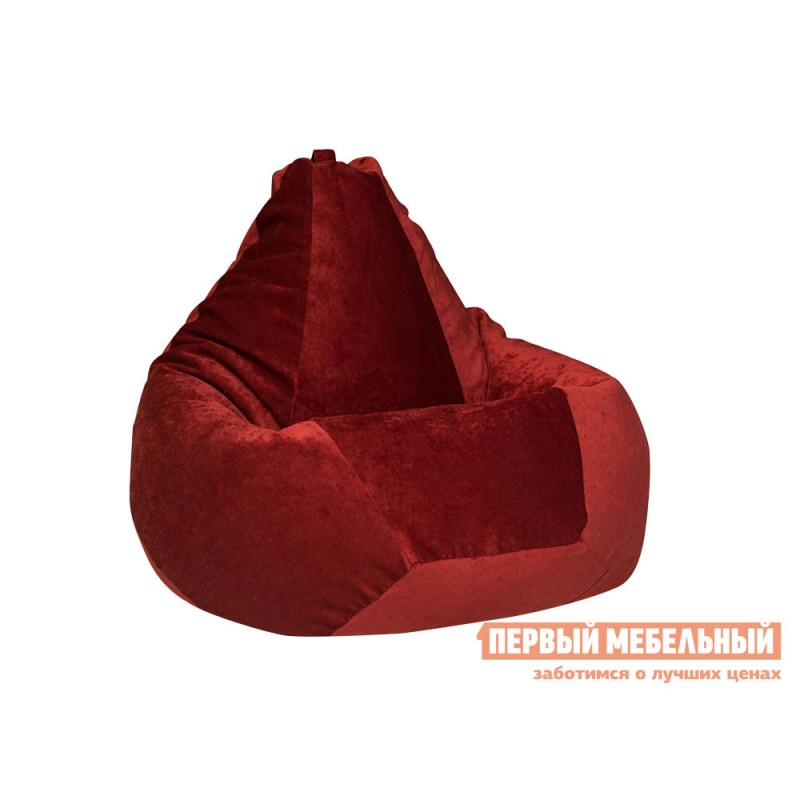 Кресло-мешок  Кресло-мешок Микровельвет Бордовый микровельвет, XL