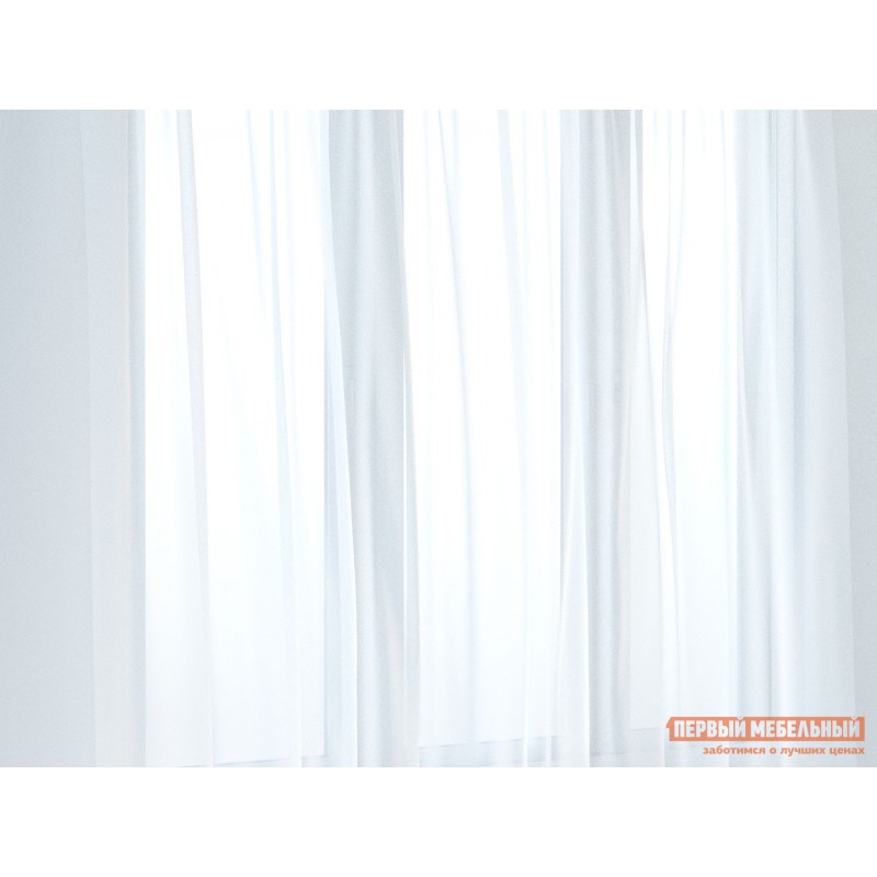 Шторы  Вуаль ШТ(вуаль-белый) Размер 300х270 Белый ажурный (фото 3)