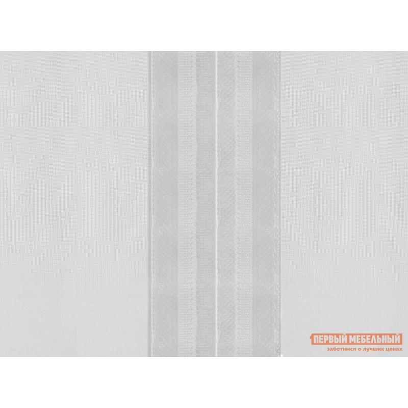 Шторы  Вуаль ШТ(вуаль-белый) Размер 300х270 Белый ажурный (фото 4)