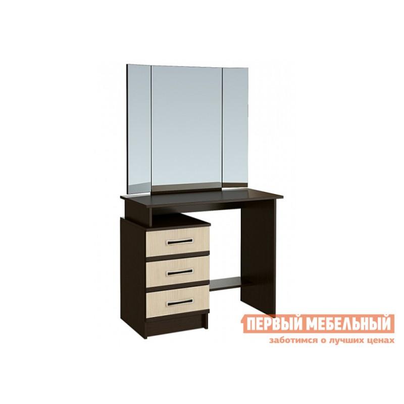 Туалетный столик  Стол туалетный с зеркалом Сакура Венге / Лоредо