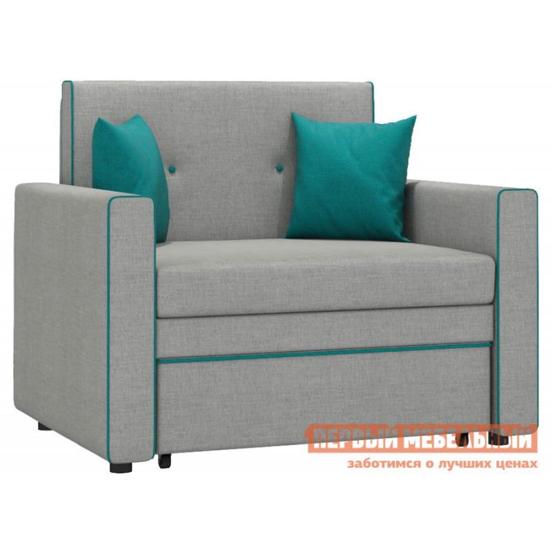Кресло  Кресло-кровать Найс Серо-бежевый, рогожка
