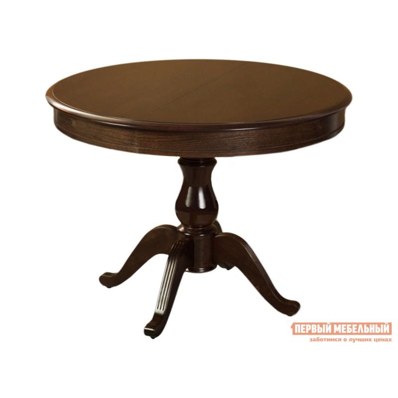 Кухонный стол  Стол раздвижной Фабрицио 1 Темный орех, Большой