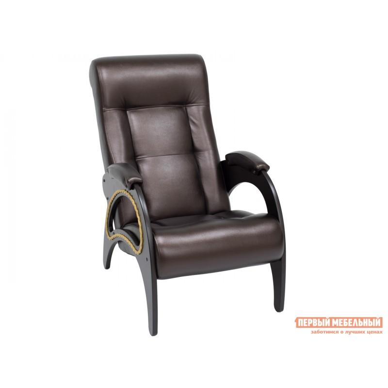 Кресло  Кресло Сиена Венге, Oregon 120, иск. кожа