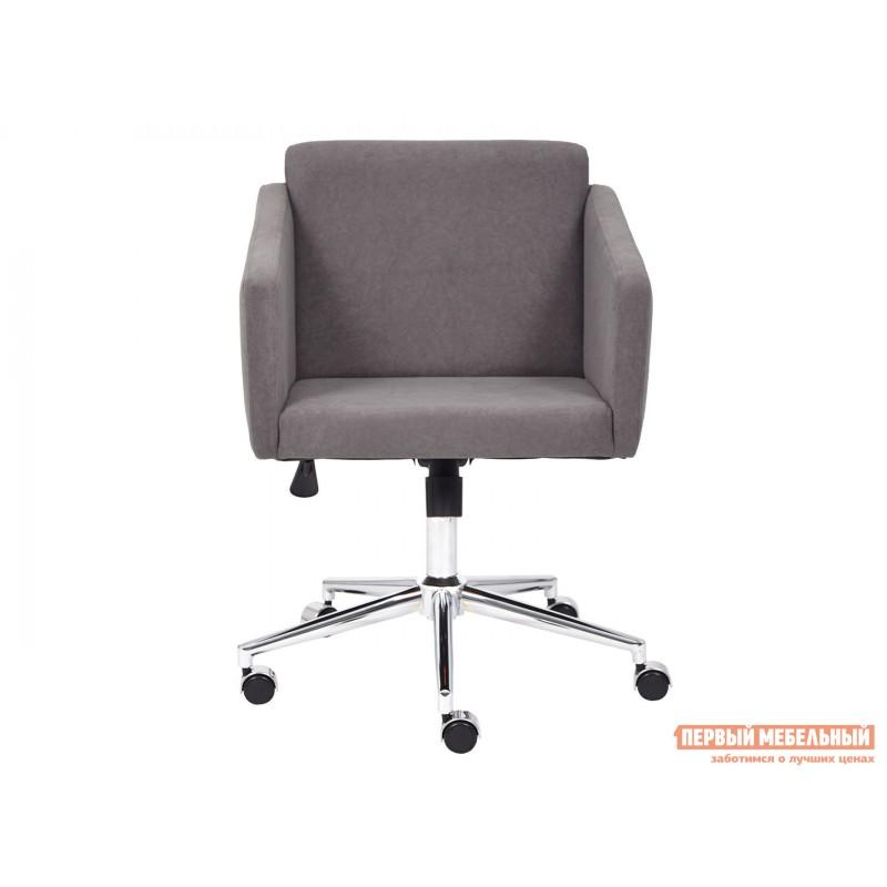 Офисное кресло  Офисное кресло MILAN Серый, флок (фото 2)