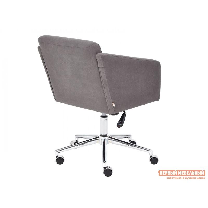 Офисное кресло  Офисное кресло MILAN Серый, флок (фото 4)