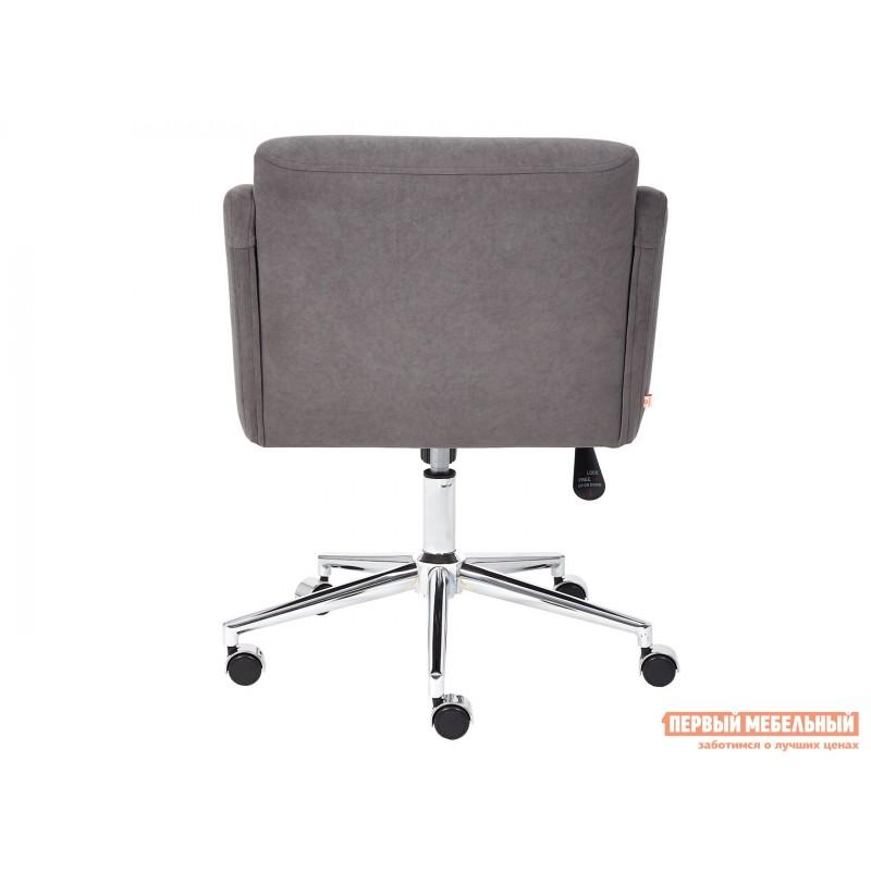 Офисное кресло  Офисное кресло MILAN Серый, флок (фото 5)