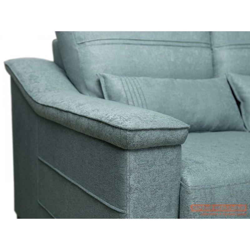 Прямой диван  Диван Холидей Люкс Бирюзовый, рогожка (фото 5)