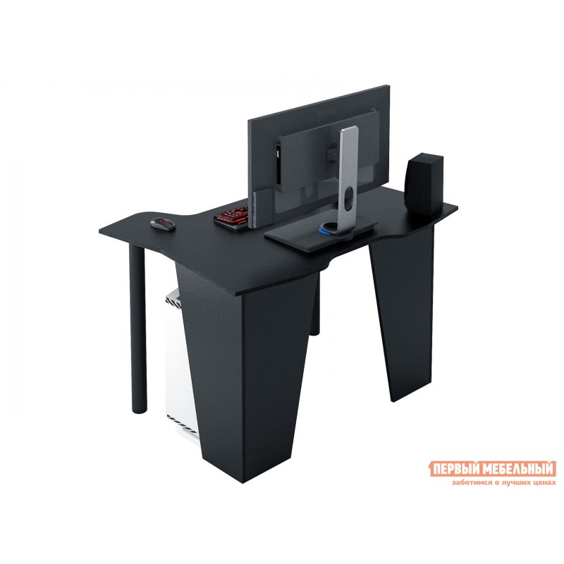 Компьютерный стол  Страйкер-2 Черный (фото 2)