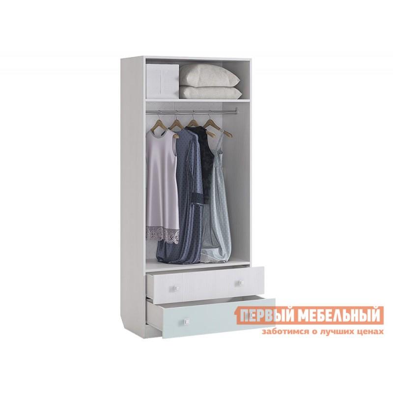 Шкаф детский  MKB-01 Бонни Шкаф комбинированный (с ящ. 2-створчатый) Белый Рамух / Кэнди (фото 2)