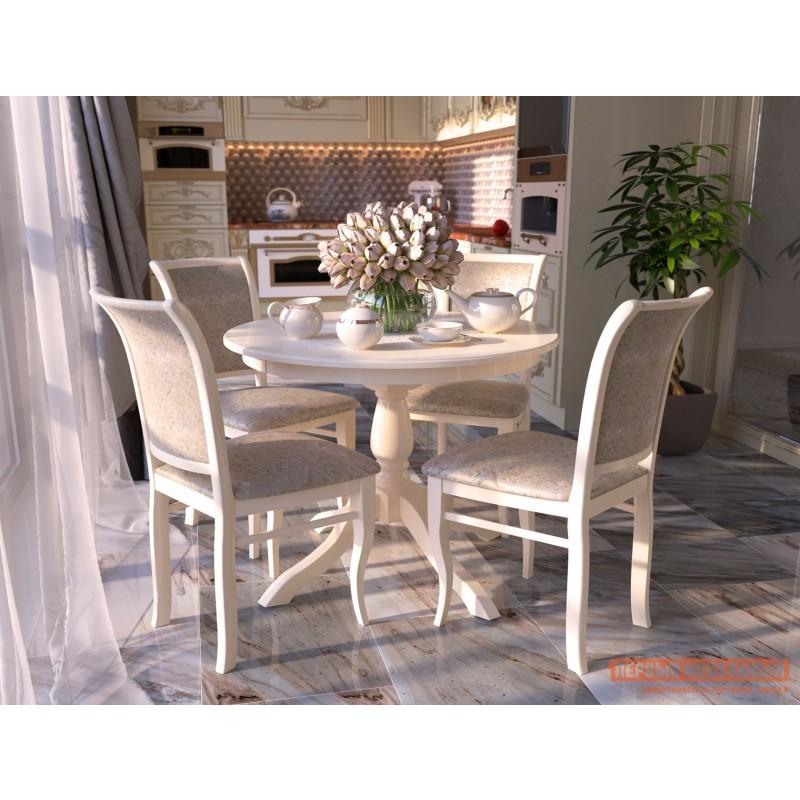 Кухонный стол  Стол Романс Белый (фото 2)