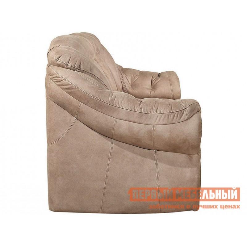 Прямой диван  Диван Маркус 3 Люкс Бежевый, искусственная замша (фото 5)