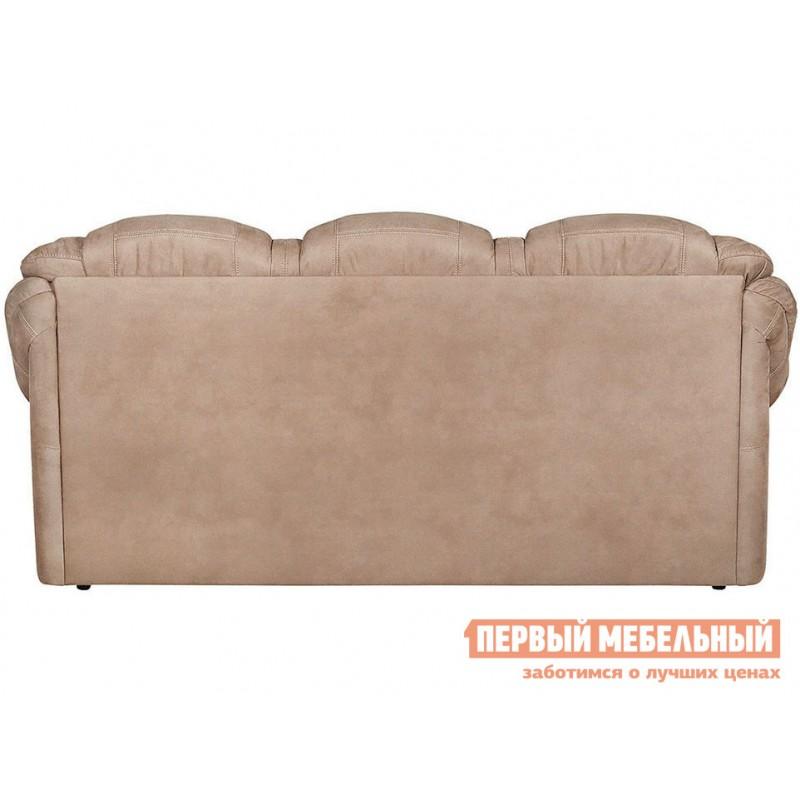Прямой диван  Диван Маркус 3 Люкс Бежевый, искусственная замша (фото 6)