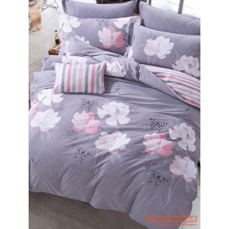 Комплект постельного белья  КПБ Сатин-С74 С74, сатин, Полутороспальный