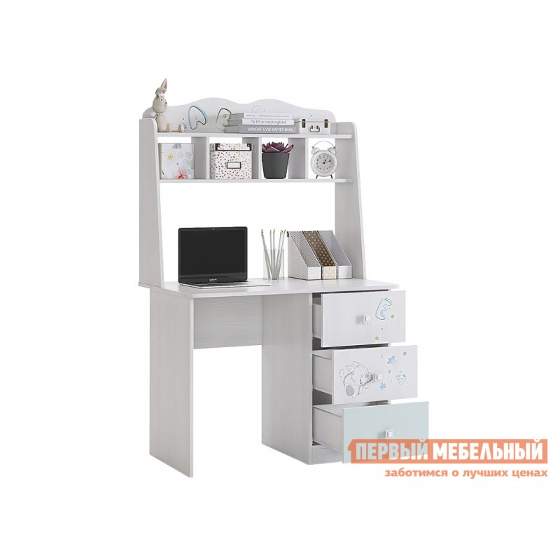 Компьютерный стол  MKB-05 Бонни Стол Белый Рамух / Кэнди (фото 2)