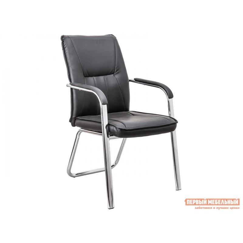 Офисный стул  Офисный стул OSCAR Черный, экокожа