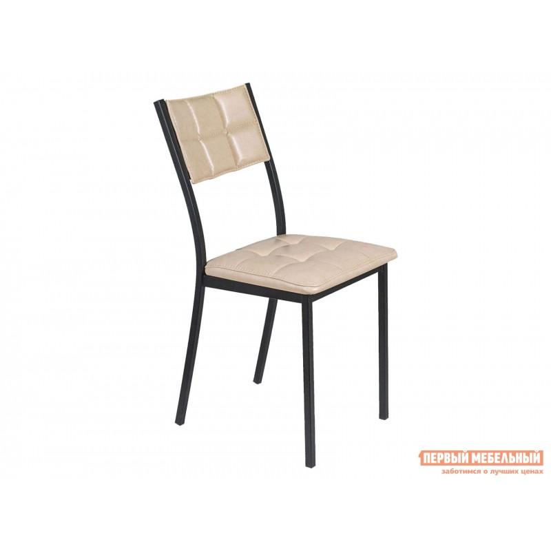 Обеденная группа для столовой и гостиной  Стол АРТ + 4 Стула Дункан Эврика ЛДСП / Pegas, экокожа / Черный матовый (фото 4)