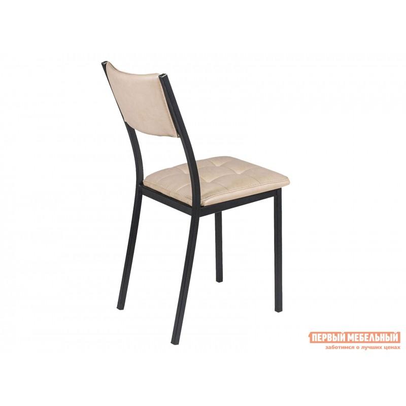 Обеденная группа для столовой и гостиной  Стол АРТ + 4 Стула Дункан Эврика ЛДСП / Pegas, экокожа / Черный матовый (фото 5)