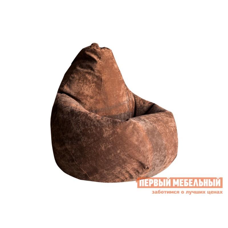 Кресло-мешок  Кресло-мешок Микровельвет Коричневый микровельвет, 2XL